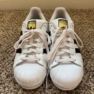Adidas Original Superstar Sneaker shoes Size 8.5